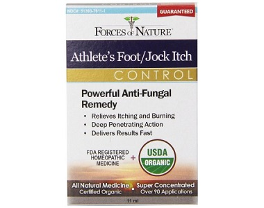 Forces of Nature Athlete's Foot JockItch Control Review