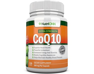 NutriOnn CoQ10 Review - For Improved Health And Wellness