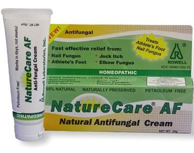 Rowell Laboratories NatureCare AF Natural Anti-Fungal Cream Review