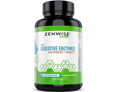 Zenwise Daily Digestive Enzymes Review - For Increased Digestive Support And IBS