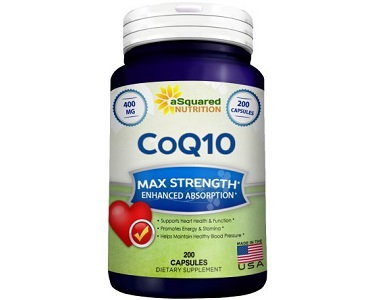 aSquared Nutrition CoQ10 Review