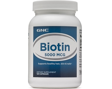 GNC Biotin Review - For Hair Loss, Brittle Nails and Unhealthy Skin