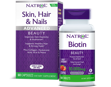 Natrol Biotin Review - For Hair Loss, Brittle Nails and Unhealthy Skin