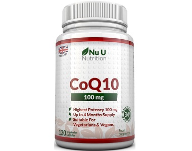 U Nutrition CoQ10 Review - For Improved Health And Wellness