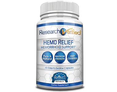 Research Verified Hemo Relief Review - For Relief From Hemorrhoids