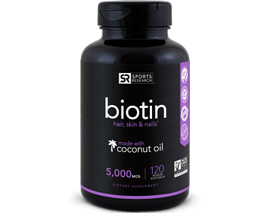 Sports Research Biotin Review - For Hair Loss, Brittle Nails and Unhealthy Skin