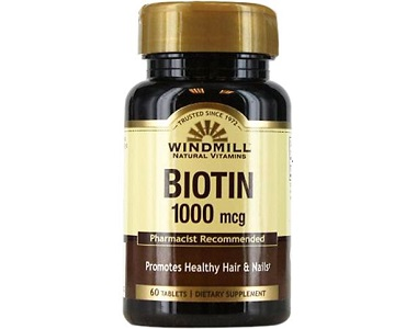 Windmill Biotin Review - For Hair Loss, Brittle Nails and Unhealthy Skin