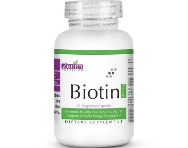 Zenith Nutrition Biotin Review