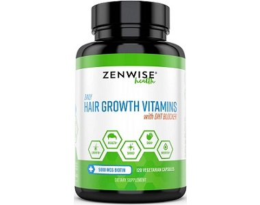 Zenwise Health Hair Growth Review- For Dull And Thinning Hair