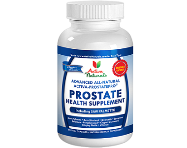 Activa Naturals Prostate Health Supplement Review - For Urinary Health And Prostate Support