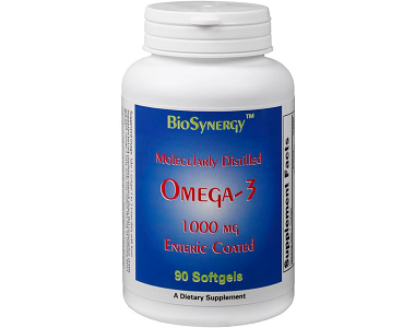 BioSynergy Health Alternatives Omega-3 Fish Oil Review