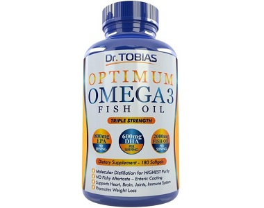 Dr. Tobias Optimum Omega 3 Fish Oil Review - For Improved Heart Health