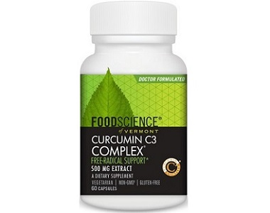 Food Science Of Vermont Curcumin C3 Complex Review