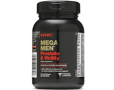 GNC Mega Men Prostate And Virility Review - For Urinary and Prostate Support