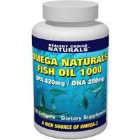 Healthy Choice Naturals Omega Naturals Fish Oil 1000