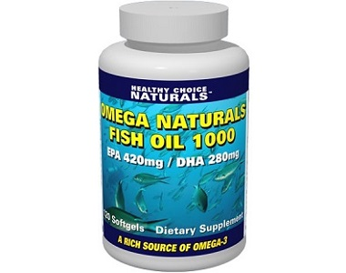 Healthy Choice Naturals Omega Naturals Fish Oil 1000 Review - For Improved Health And Wellbeing