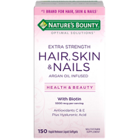 Nature's Bounty Extra Strength Hair, Skin, And Nails
