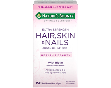 Nature's Bounty Extra Strength Hair, Skin, And Nails Review