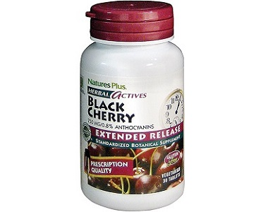 Natures Plus Herbal Actives Black Cherry Review