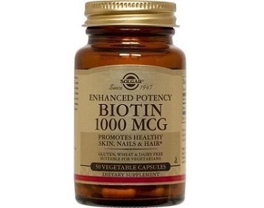 Solgar Enhanced Potency Biotin Review - For Hair Loss, Brittle Nails and Unhealthy Skin