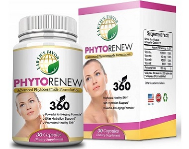 Earth's Favor PhytoRenew Anti Aging Supplement Review
