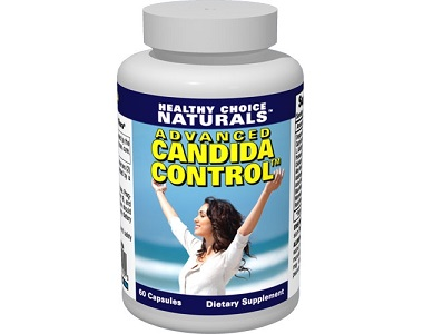 Healthy Choice Naturals Advanced Candida Control for Yeast Infection