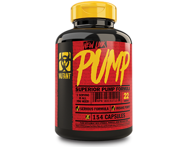 Mutant Insane Pump Supplement for Heart and Muscle