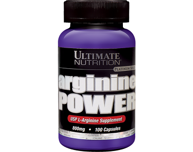 Ultimate Nutrition Arginine Power Nitric Oxide Supplement Review