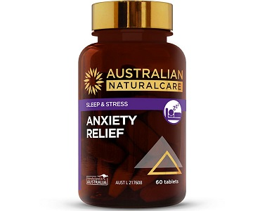 Australian Natural Care Anxiety Relief Review - For Relief From Anxiety And Tension