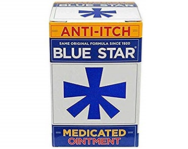 Blue Star Ointment For Relief From Ringworm Review