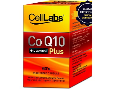 Cell Labs CoQ10 Plus Review - For Cardiovascular Health and Wellness