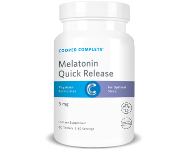 Cooper Complete Melatonin Quick Release Review - For Relief From Jetlag