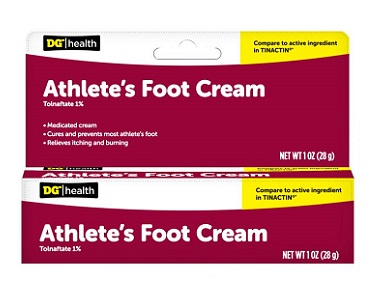DG Health Athlete's Foot Cream Review - For Symptoms Associated With Athletes Foot