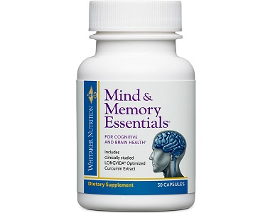 Dr Whitaker Mind and Memory Essentials Review - For Improved Brain Function And Cognitive Support