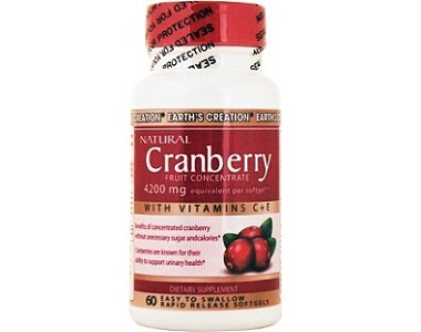 Earth's Creation Cranberry for Urinary Tract Infection