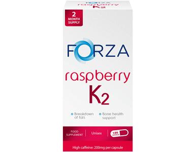 FORZA Raspberry K2 Raspberry Ketone Formula For Weight Loss