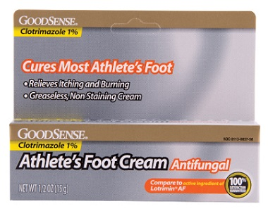 Goodsense Athlete's Foot Cream Review - For Symptoms Associated With Athletes Foot