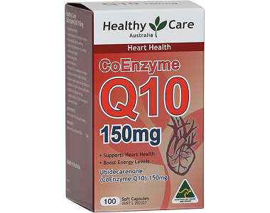Healthy Care Coenzyme Q10 Review - For Cardiovascular Health and Wellness