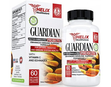 Helix Healthstore Guardian Probiotic Review - For Increased Digestive Support And IBS