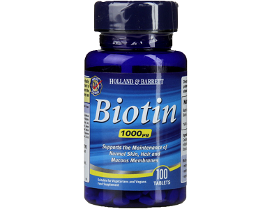 Holland & Barrett Biotin Review - For Hair Loss, Brittle Nails and Unhealthy Skin