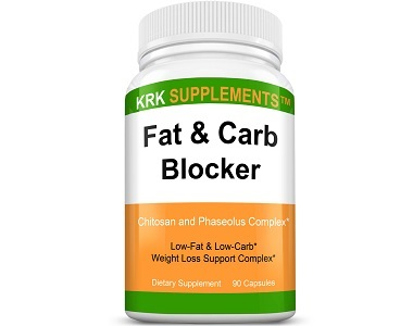 KRK Supplements Fat and Carb Blocker Review - For Weight Loss