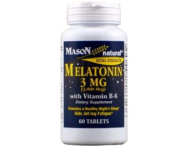 Mason Natural Melatonin for Jet Lag