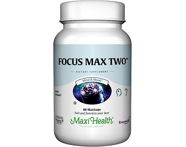 Maxi Health Focus Max Two for Brain Booster