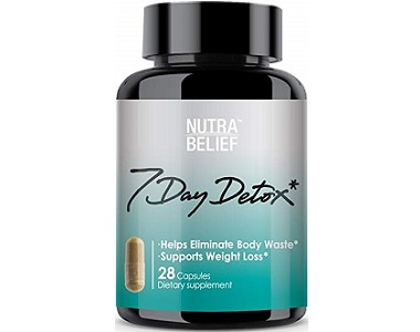 NUTRABELIEF 7 Day Detox for Weight Loss