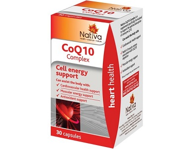 Nativa CoQ10 Complex Review - For Cardiovascular Health and Wellness