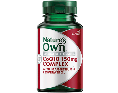 Natures Own CoQ10 Review - For Cardiovascular Health and Wellness