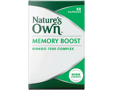 Nature's Own Memory Boost Review - For Improved Brain Function And Cognitive Support