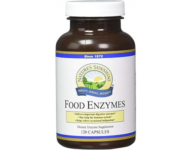 Nature's Sunshine Food Enzymes Review - For Increased Digestive Support And IBS