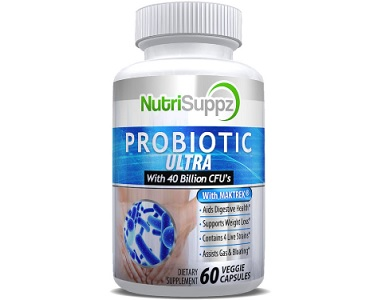 NutriSuppz Probiotic Ultra for IBS Relief