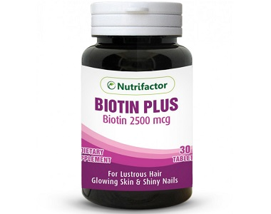 Nutrifactor Biotin Plus Review - For Hair Loss, Brittle Nails and Unhealthy Skin